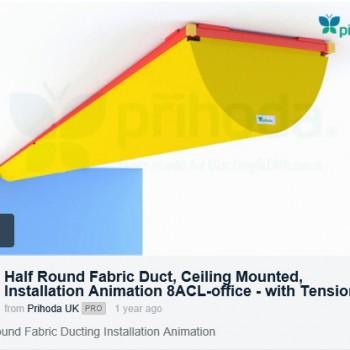 Prihoda-Half-Round-Ceiling-Installation