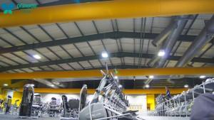 Gym Ventilation Ducts