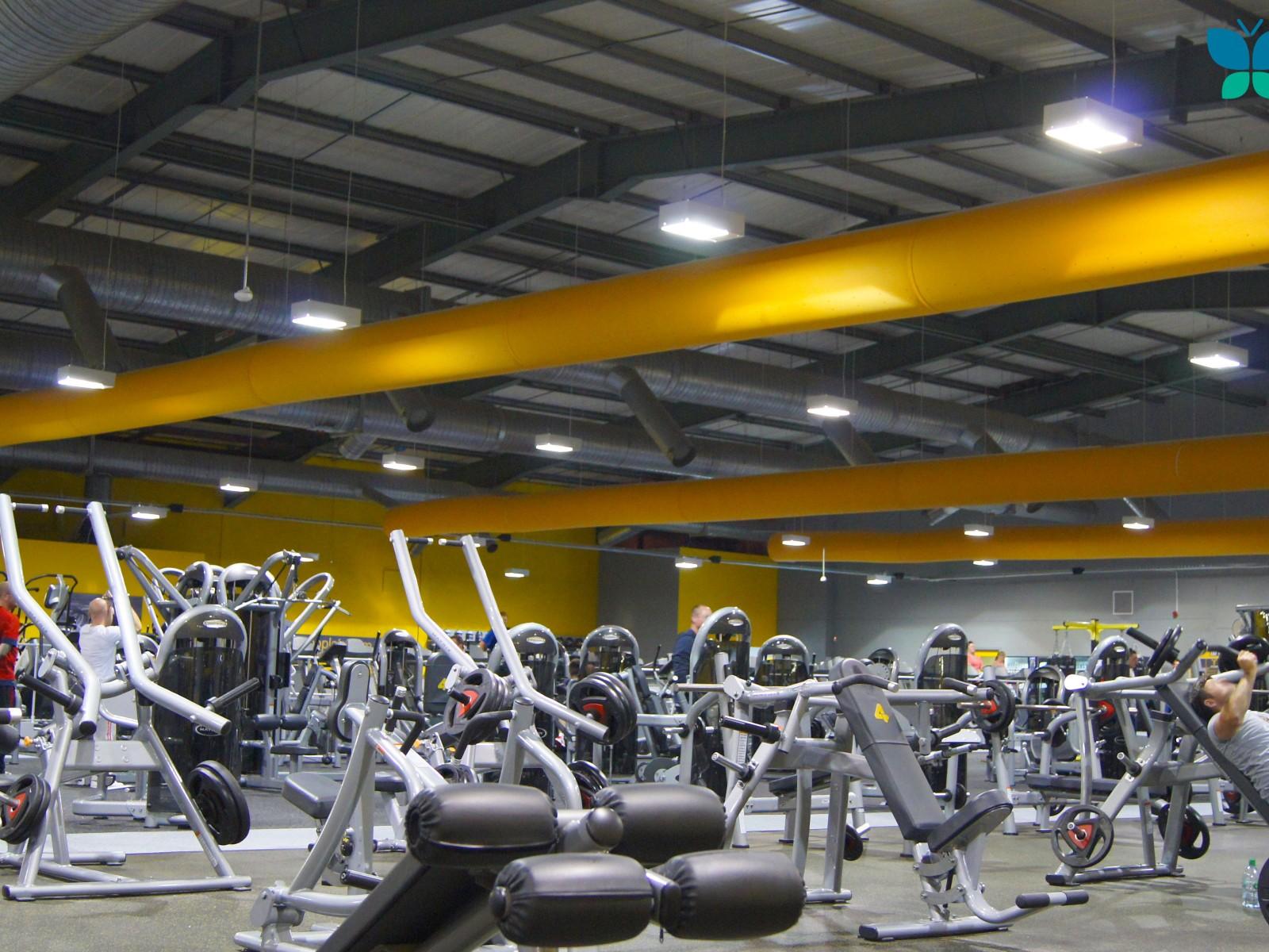 Prihoda Gym Textile Ducting