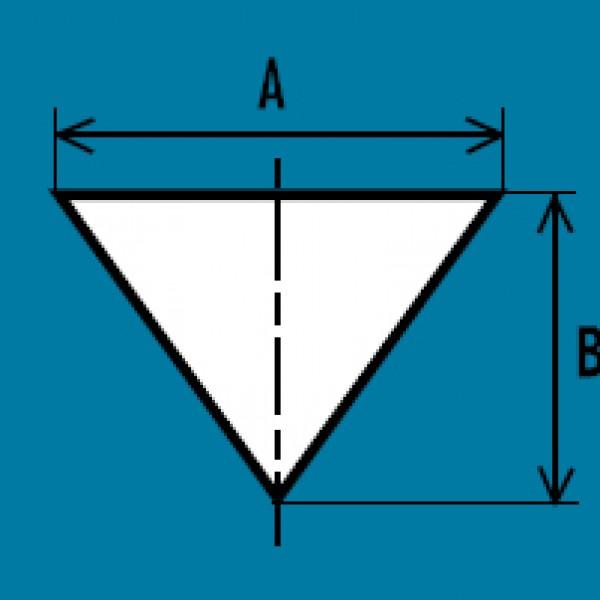 Triangluar-duct