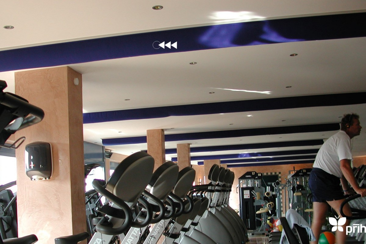 Prihoda Gym Fabric Ducting