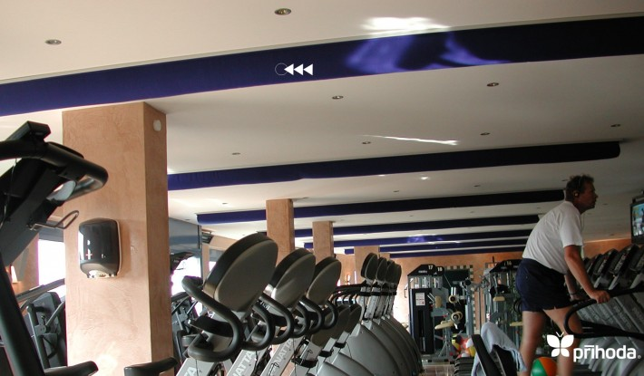 Prihoda Gym Fabric Ducting